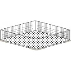500x500mm Glasswasher Wire Basket