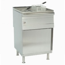 PARRY PDGF DOUBLE NATURAL GAS PEDESTAL FRYER